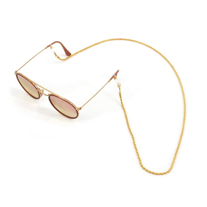 Zonnebril Ketting | Twisted Gold