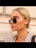 Fashion Favorite Zonnebril Ketting / Brillenkoord | Twisted Gold | Goudkleurig | 74 cm