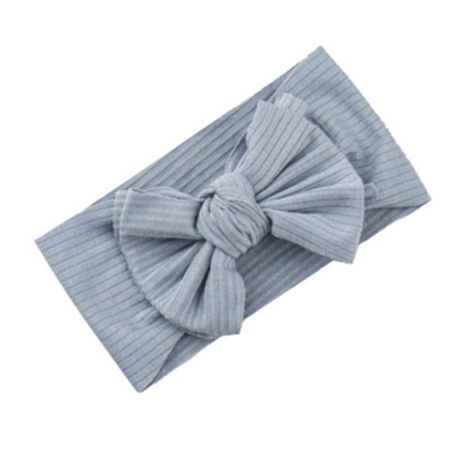 Kinder Haarband Bow | Lichtblauw