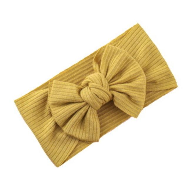 Kinder Haarband Bow | Geel