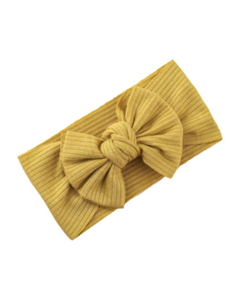 Fashion Favorite Kinder Haarband   Strik / Bow   Geel