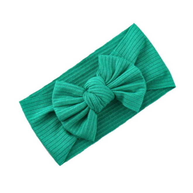 Kinder Haarband   Strik / Bow   Aqua