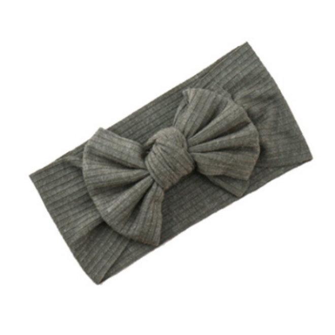 Kinder Haarband   Strik / Bow   Army
