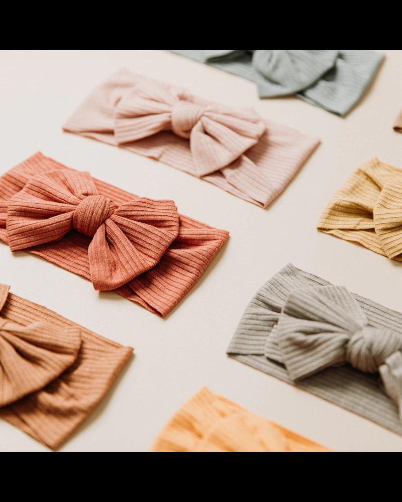 Fashion Favorite Kinder Haarband | Strik / Bow | Roestbruin