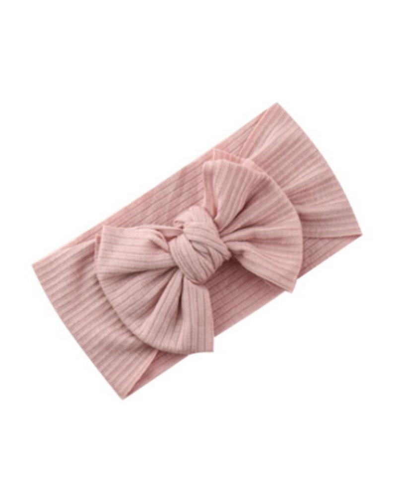 Fashion Favorite Kinder Haarband   Strik / Bow   Lichtroze