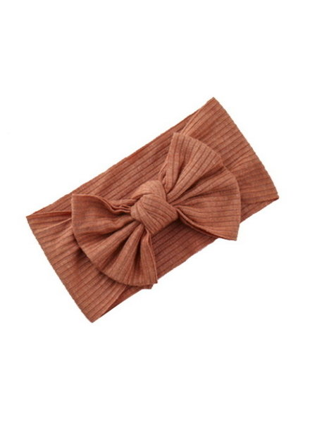 Fashion Favorite Kinder Haarband Bow | Roestbruin