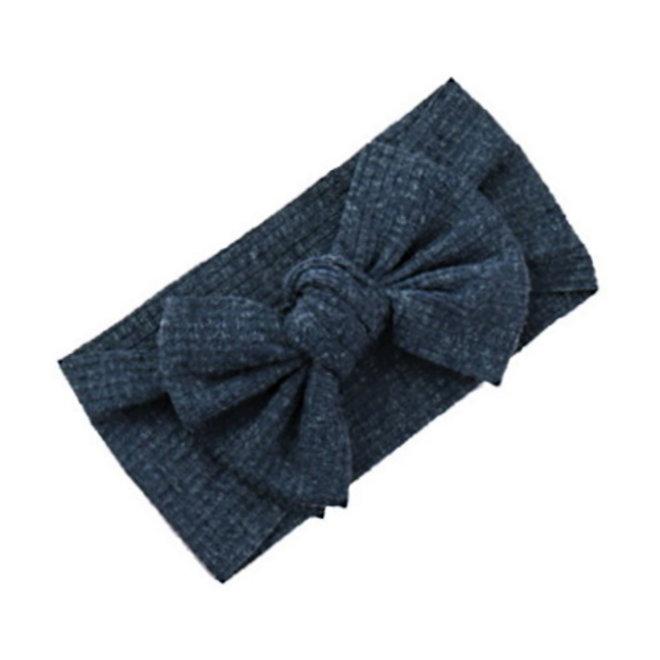 Kinder Haarband Bow | Donkerblauw