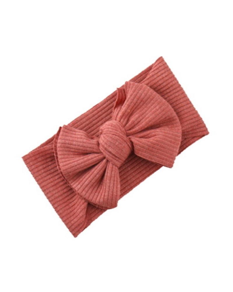 Fashion Favorite Kinder Haarband   Strik / Bow   Terracotta