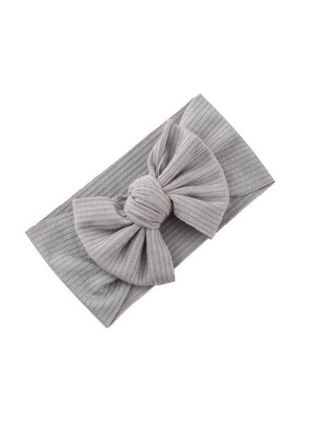Fashion Favorite Kinder Haarband Bow | Grijs