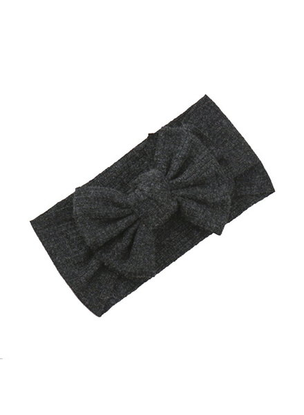 Fashion Favorite Kinder Haarband Bow | Antraciet