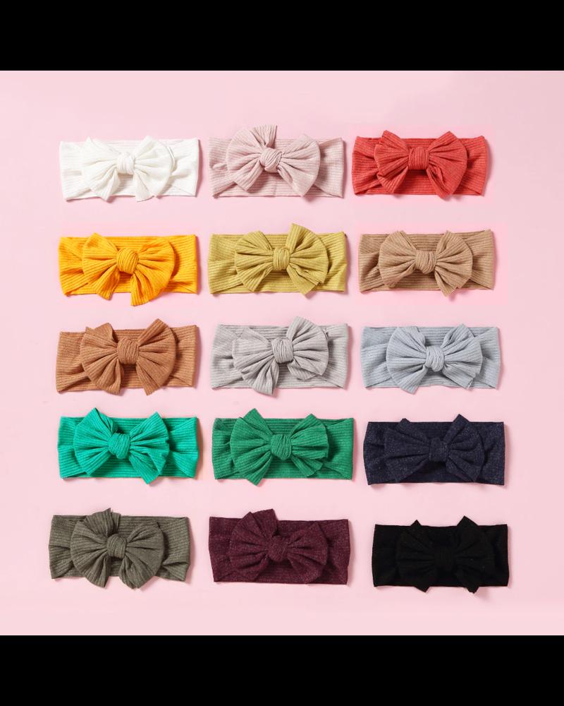 Fashion Favorite Kinder Haarband | Strik / Bow | Antraciet