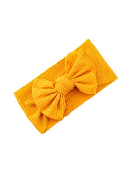 Fashion Favorite Kinder Haarband Bow | Okergeel