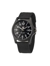 Fashion Favorite New Military Horloge | Zwart