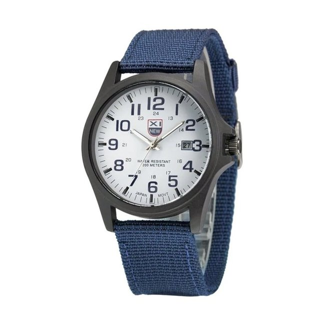 New Military Horloge | Blauw