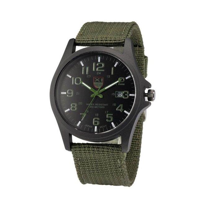 New Military Horloge | Groen