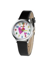 Fashion Favorite Kinder Horloge | Hartje Zwart