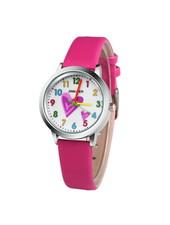 Fashion Favorite Kinder Horloge | Hartje Roze