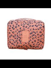 Fashion Favorite Travel 'Leopard' Toilettas Luipaard