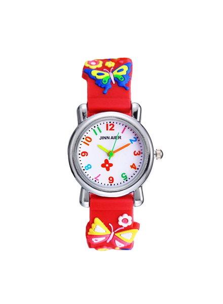 Fashion Favorite Kinder Horloge | Vlinder Rood 3D