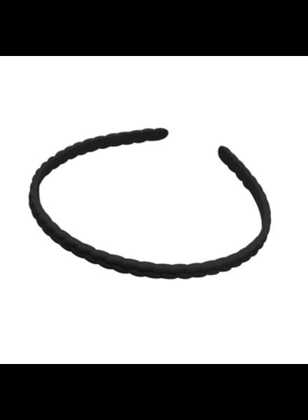 Fashion Favorite Haarband / Diadeem Vlecht | Zwart