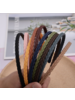 Fashion Favorite Haarband / Diadeem | Vlecht | Coffee | Kunststof