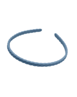 Fashion Favorite Haarband / Diadeem  Vlecht | Denimblauw