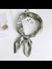 Fashion Favorite Paisley Bandana / Zakdoek Mintgroen   Polyester - Satijnlook   70 x 70 cm