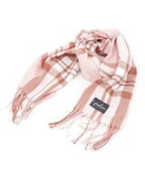 Fashion Favorite Ruit Sjaal - Roze/Bruin/Wit