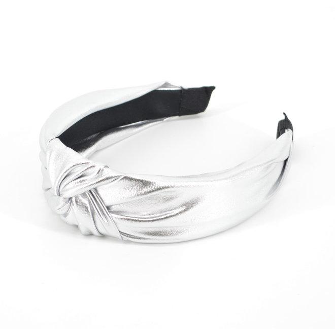 Metallic Diadeem / Haarband - Zilver