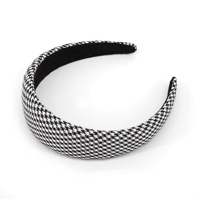 Pied-de-Poule Diadeem / Haarband - Midi