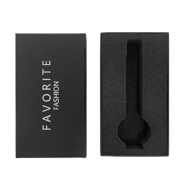Favorite Fashion - Horloge Giftbox Zwart