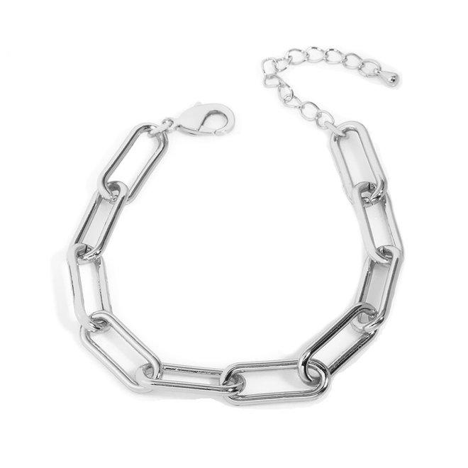 Schakelarmband - Zilver