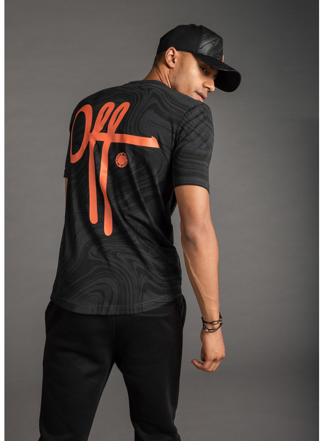 Off The Pitch The Self Tee - Black
