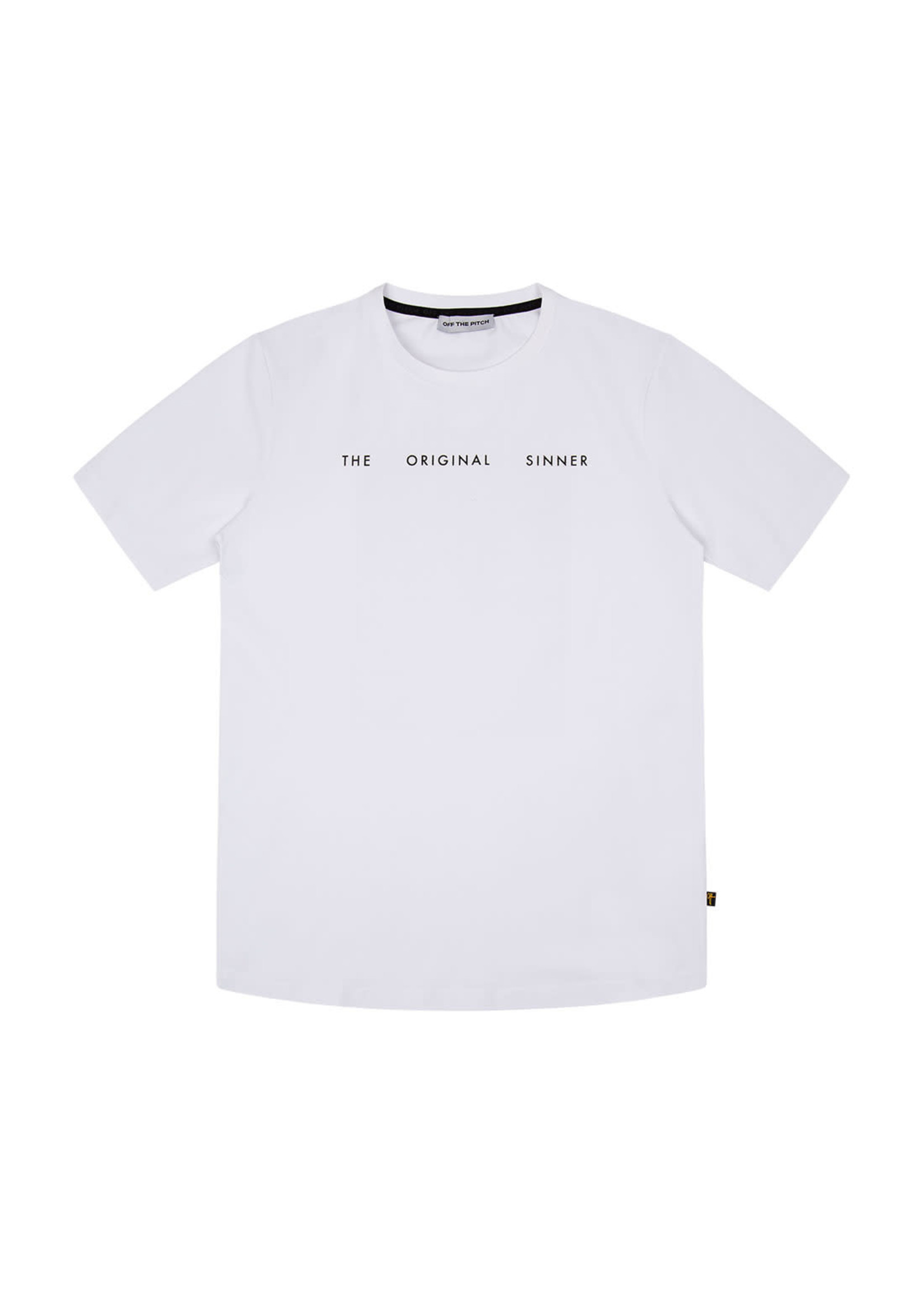 OFF THE PITCH Off The Pitch The Sinner Tee - White