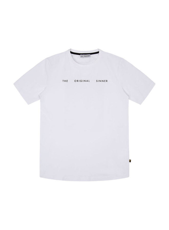 Off The Pitch The Sinner Tee - White