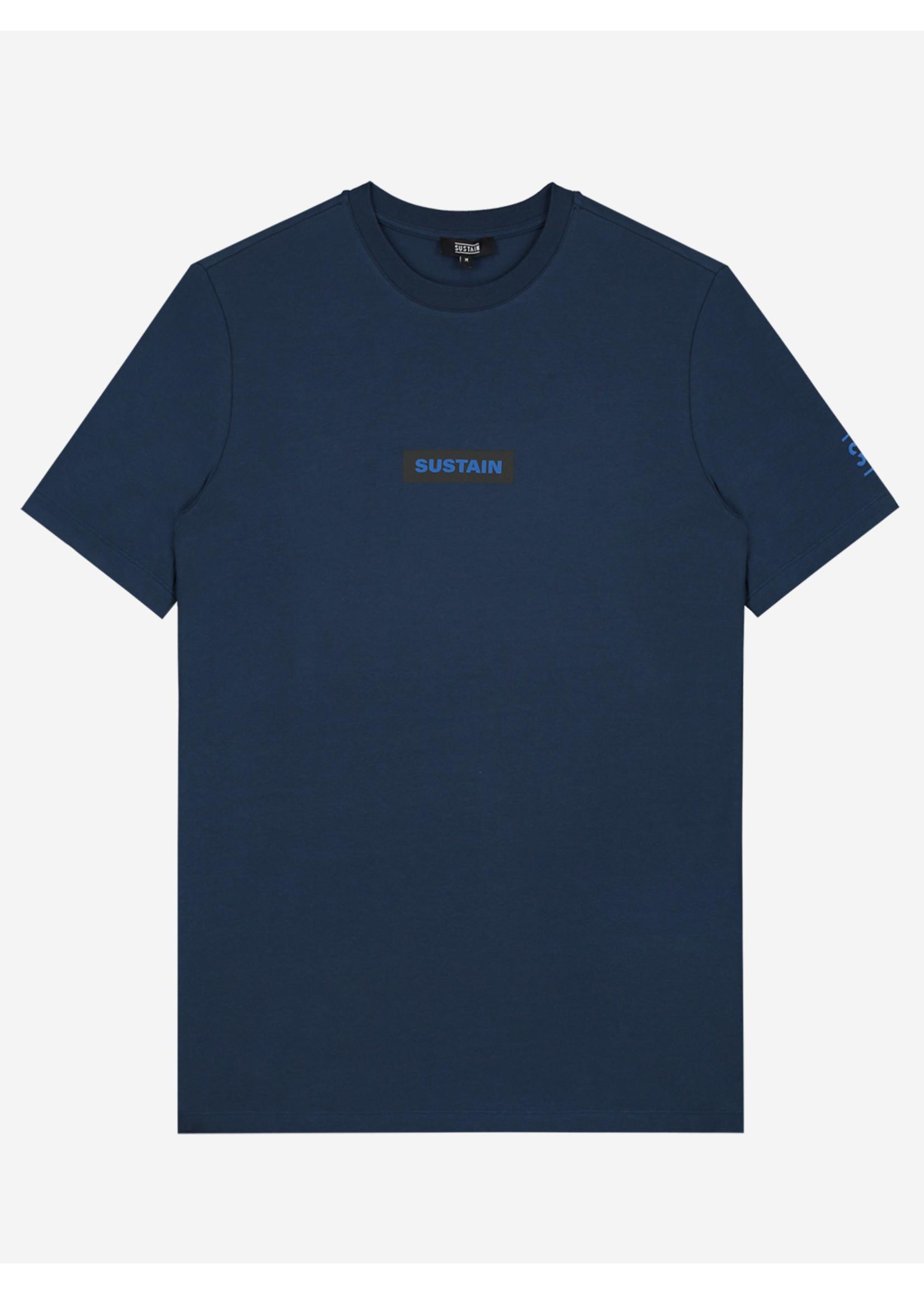 Sustain Sustain Boxlogo Regular - Blue