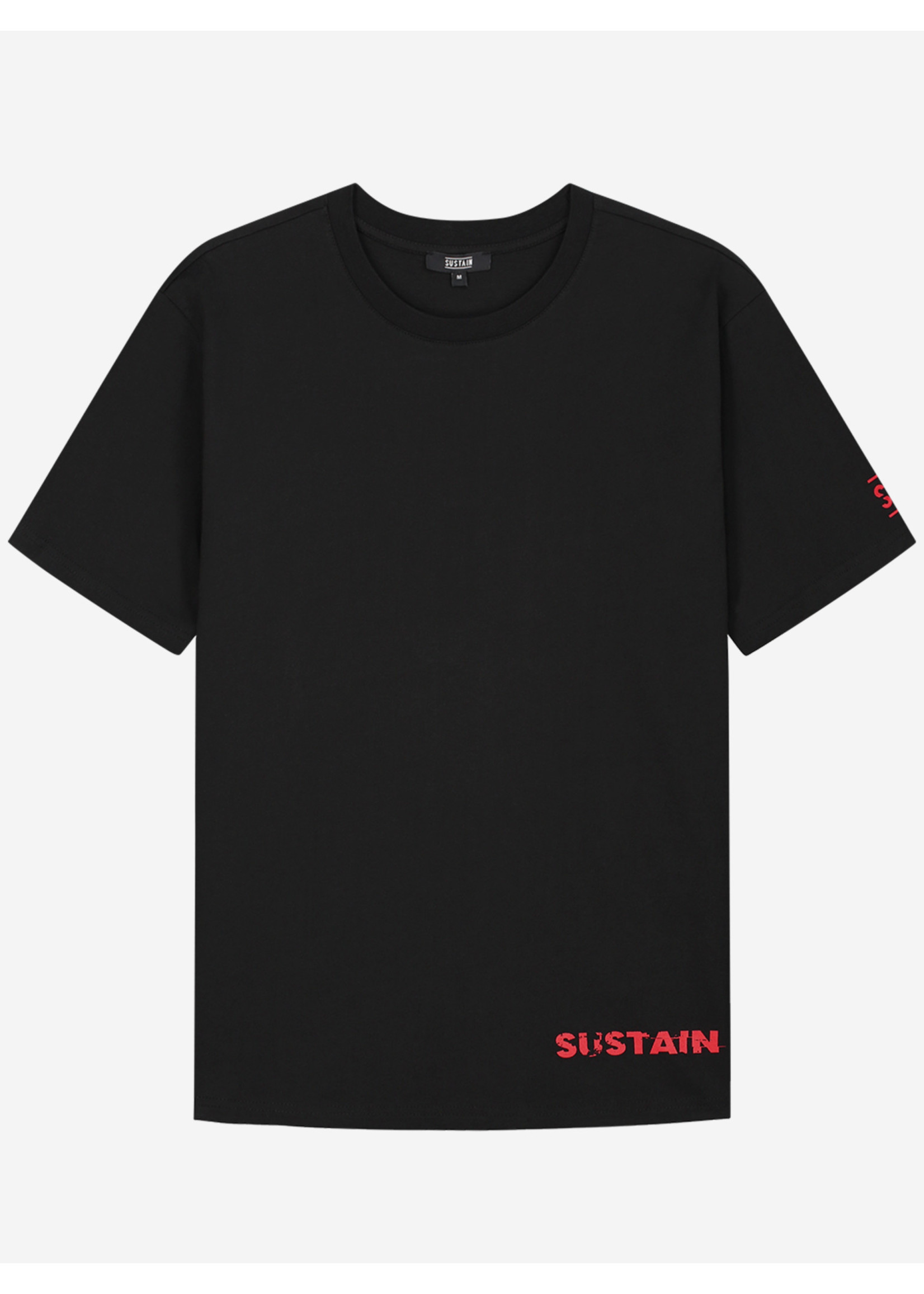 Sustain Sustain Eyes Boxy - Black
