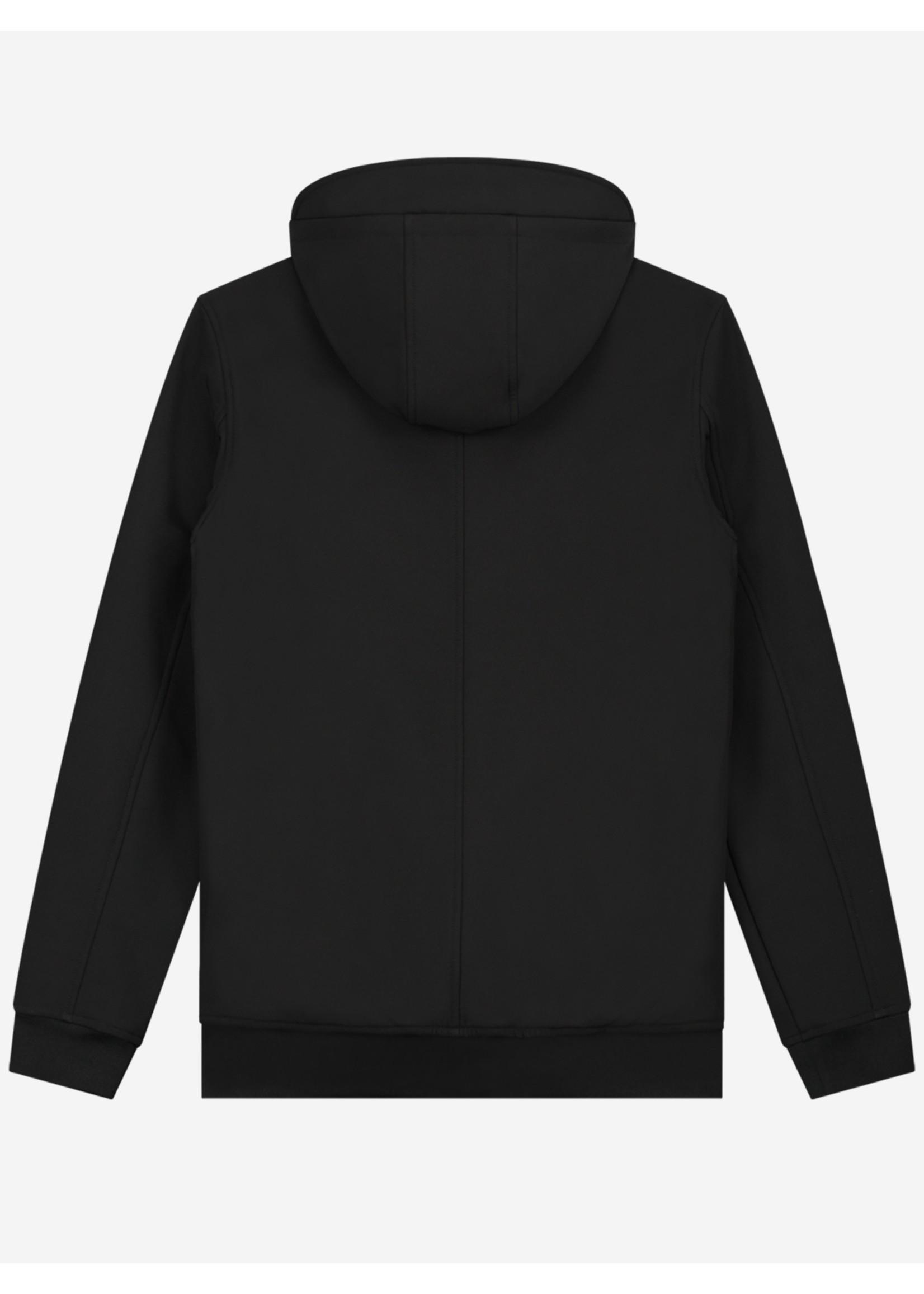 Sustain Sustain Softshell Logo Hoodie - Black