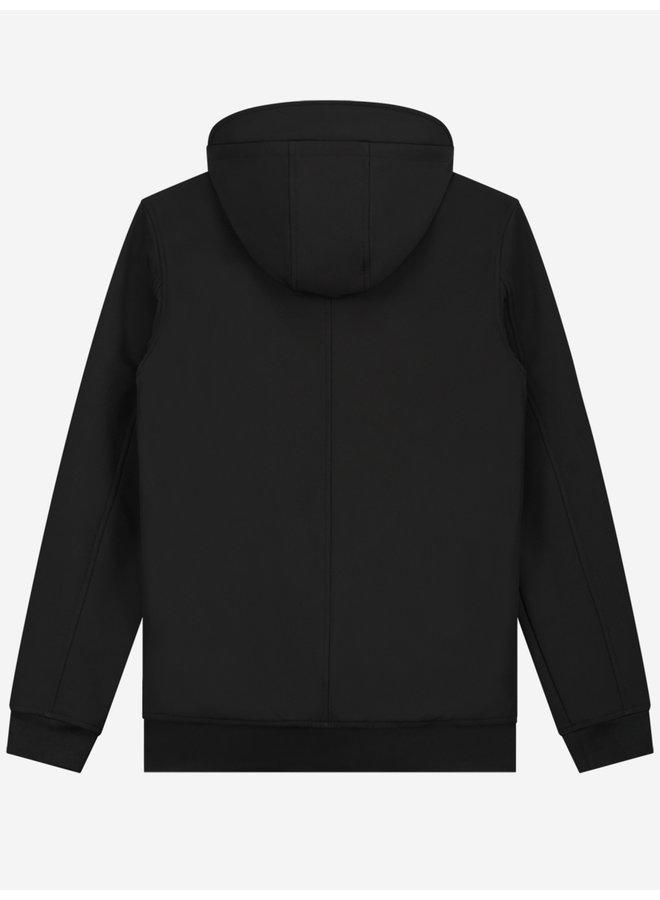 Sustain Softshell Logo Hoodie - Black