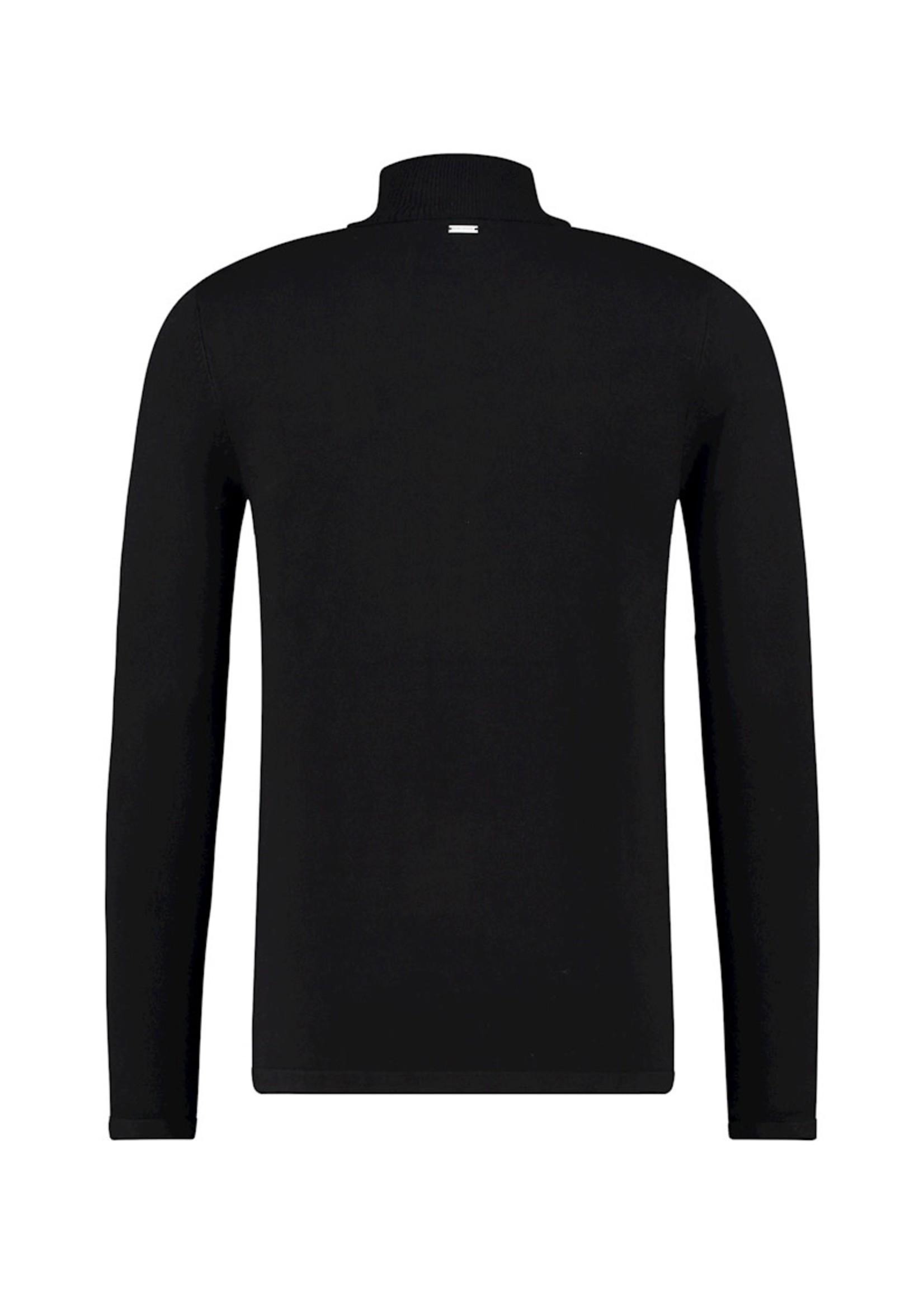 Purewhite Purewhite Knit Turtleneck - Black