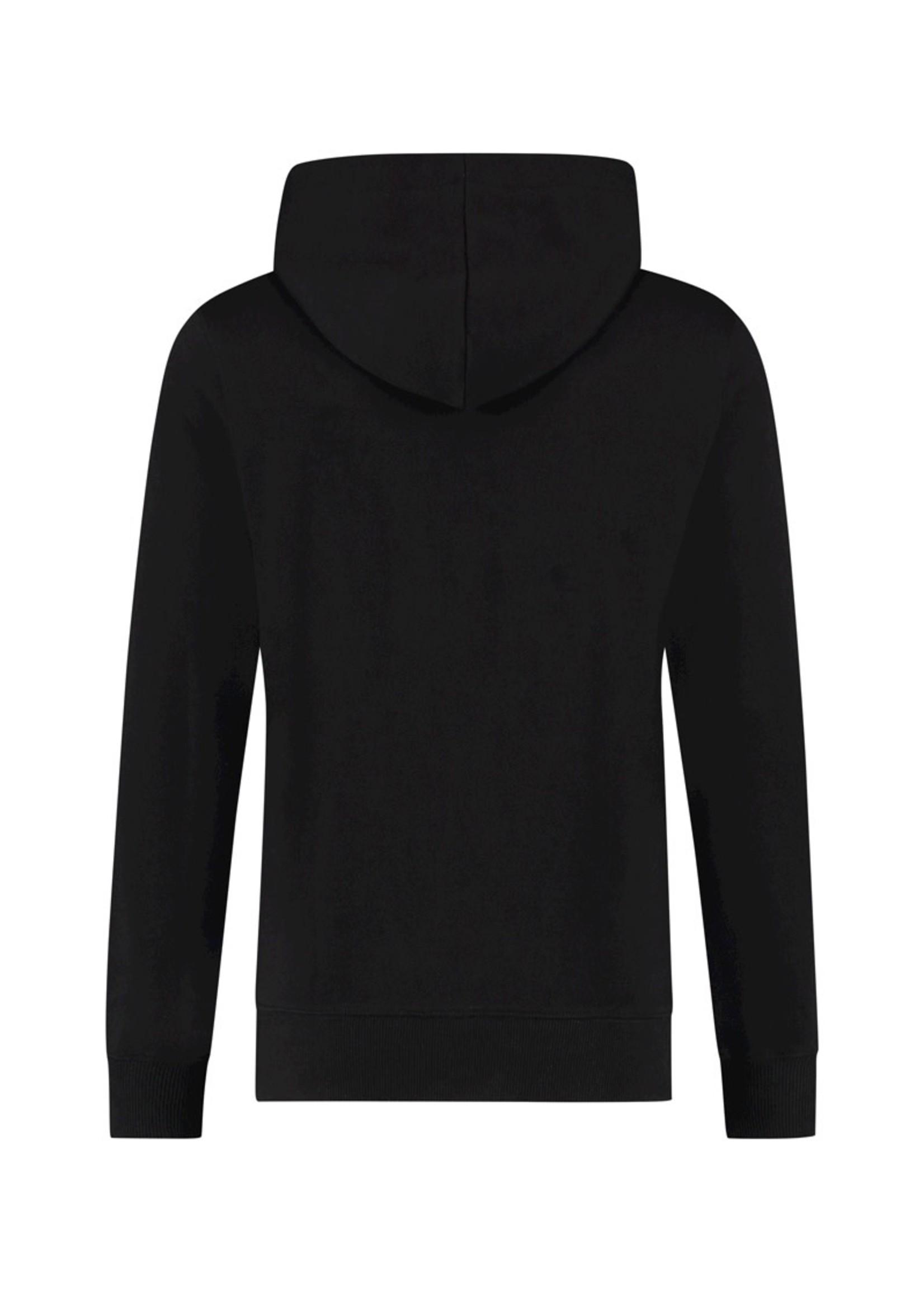 Purewhite Purewhite Reversed Logo Hoodie - Black