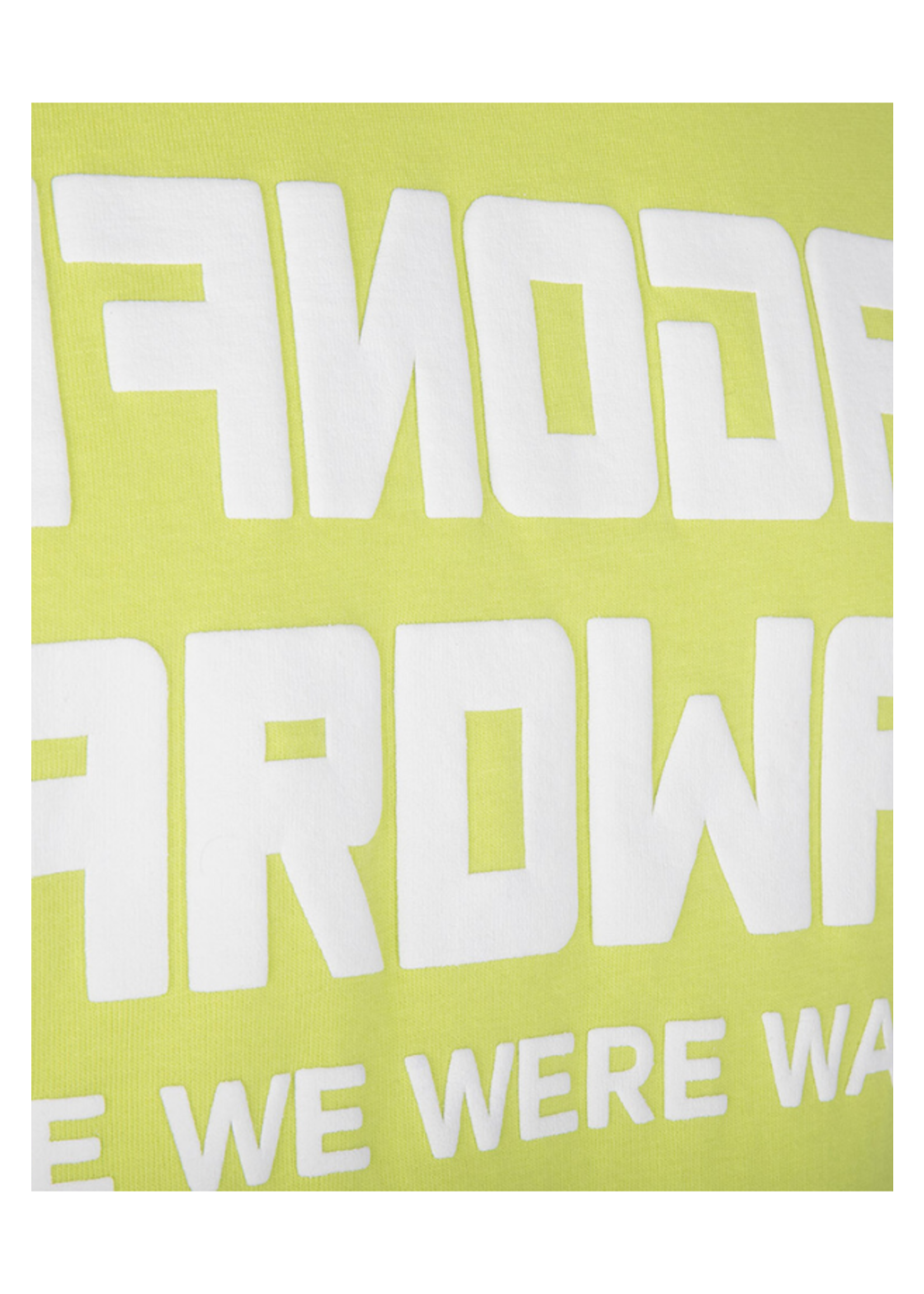 Once We Were Warriors Once We Were Warriors Ayane Tee- Acid Lime
