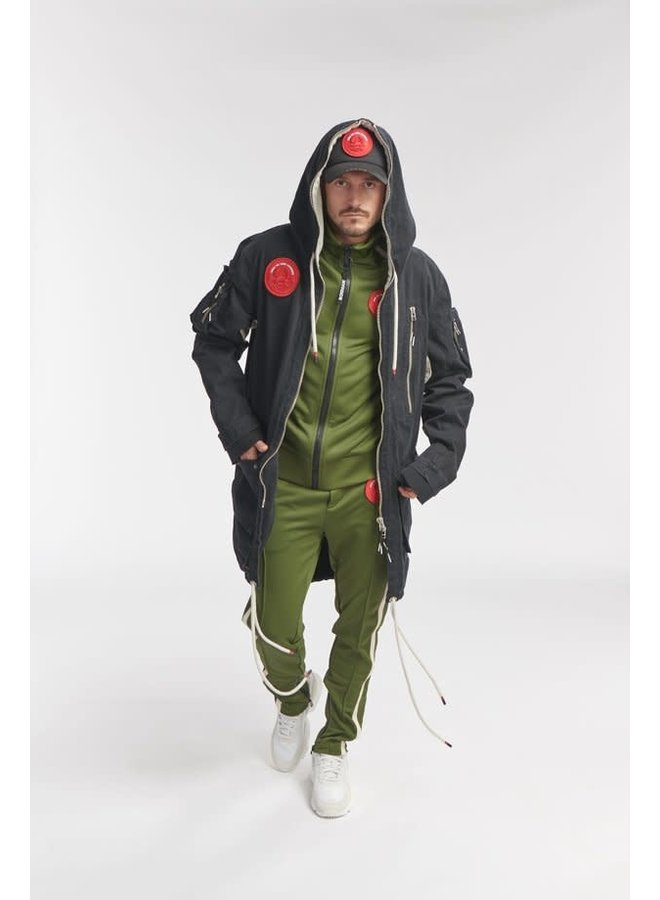 Once We Were Warriors Wesk Track Pants - Army