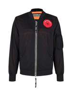 Once We Were Warriors Once We Were Warriors Rodi Bomber Double Layer Mash - Black