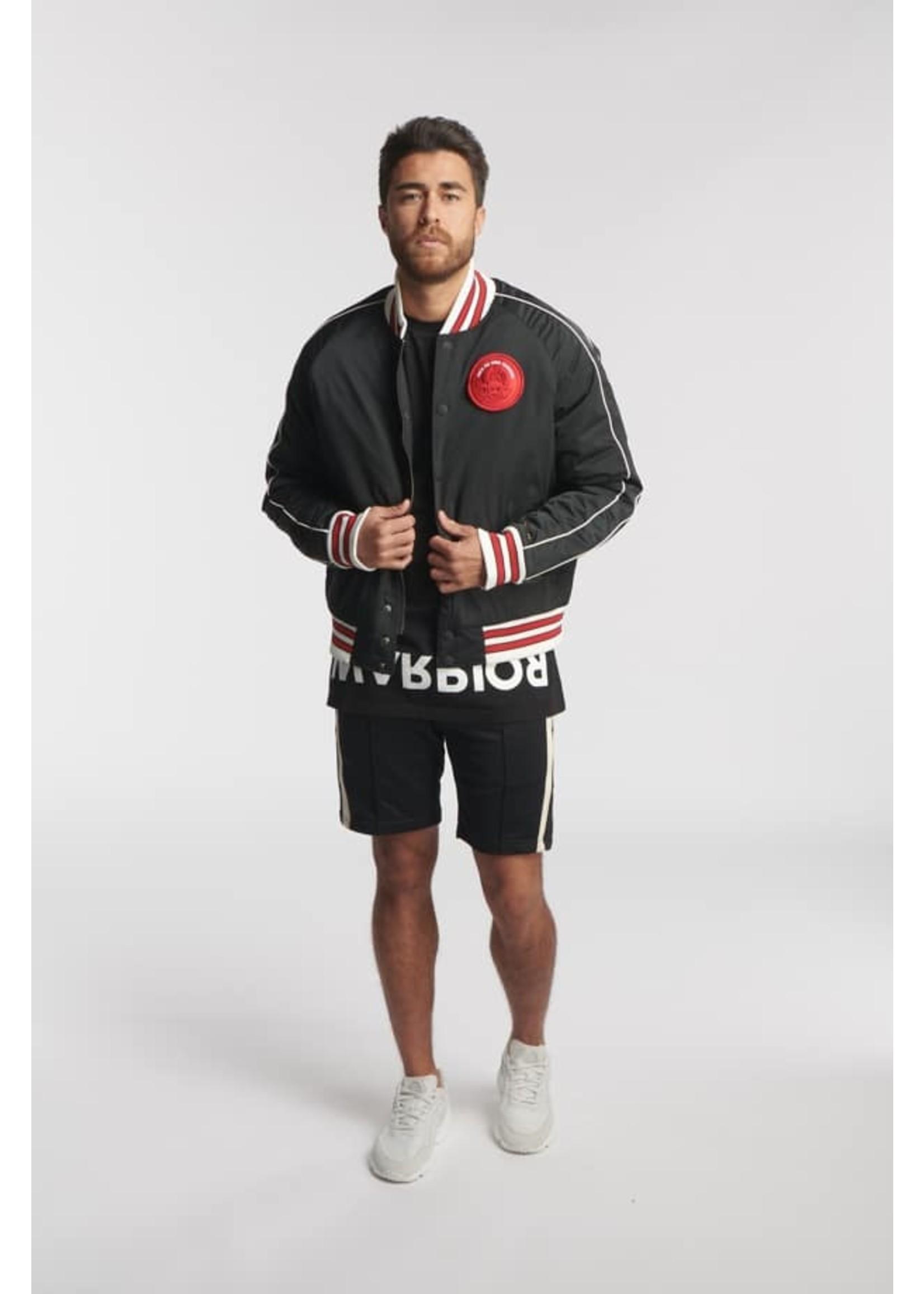 Once We Were Warriors Once We Were Warriors Maoki Basketball Jacket - Black