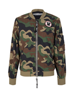 Once We Were Warriors Once We Were Warriors Ravi Bomber Jacket - Camo Army