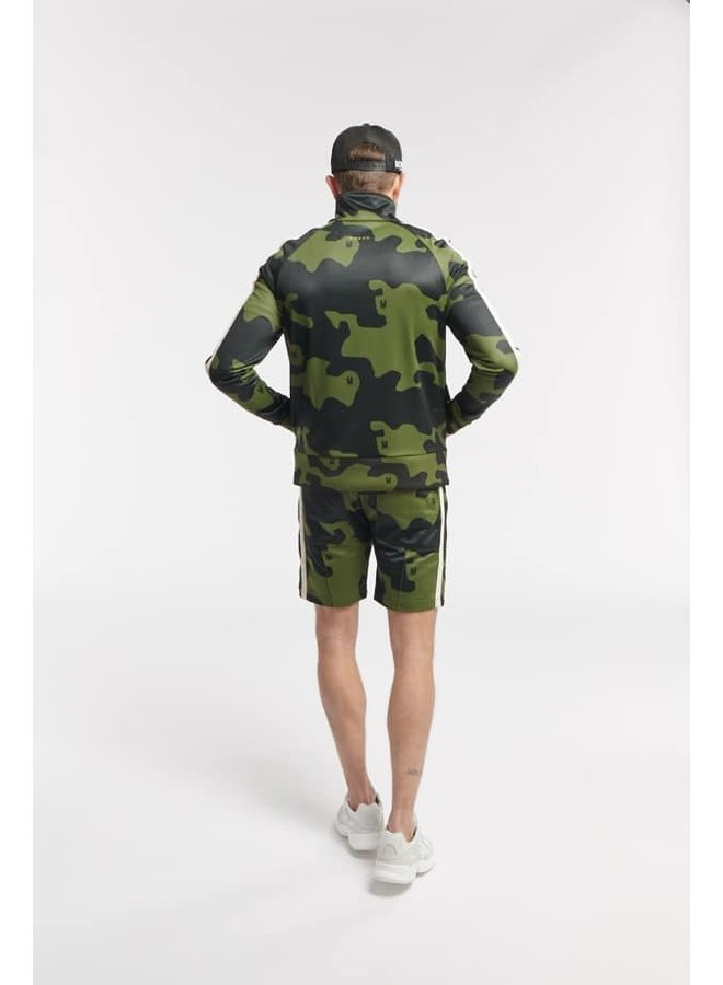 Once We Were Warriors Hipo Track Short - Camo Army