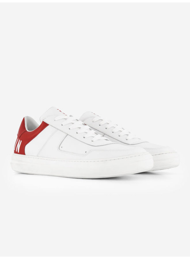 Sustain Two Tone Sneakers - White/Red
