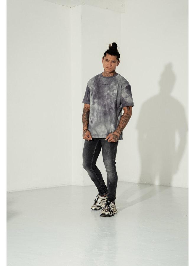 2LEGARE T-shirt Tie Dye - Grey