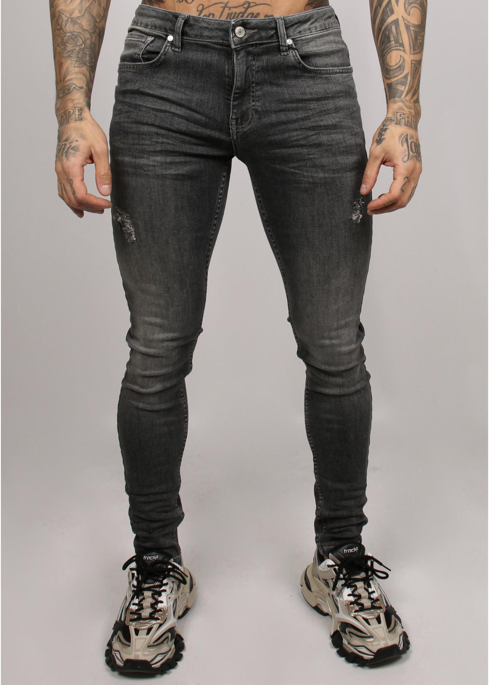 2Legare 2LEGARE NOAH stretch jeans - Mid Grey